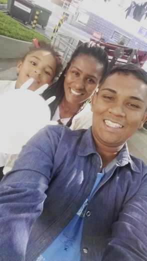 Douglas and family