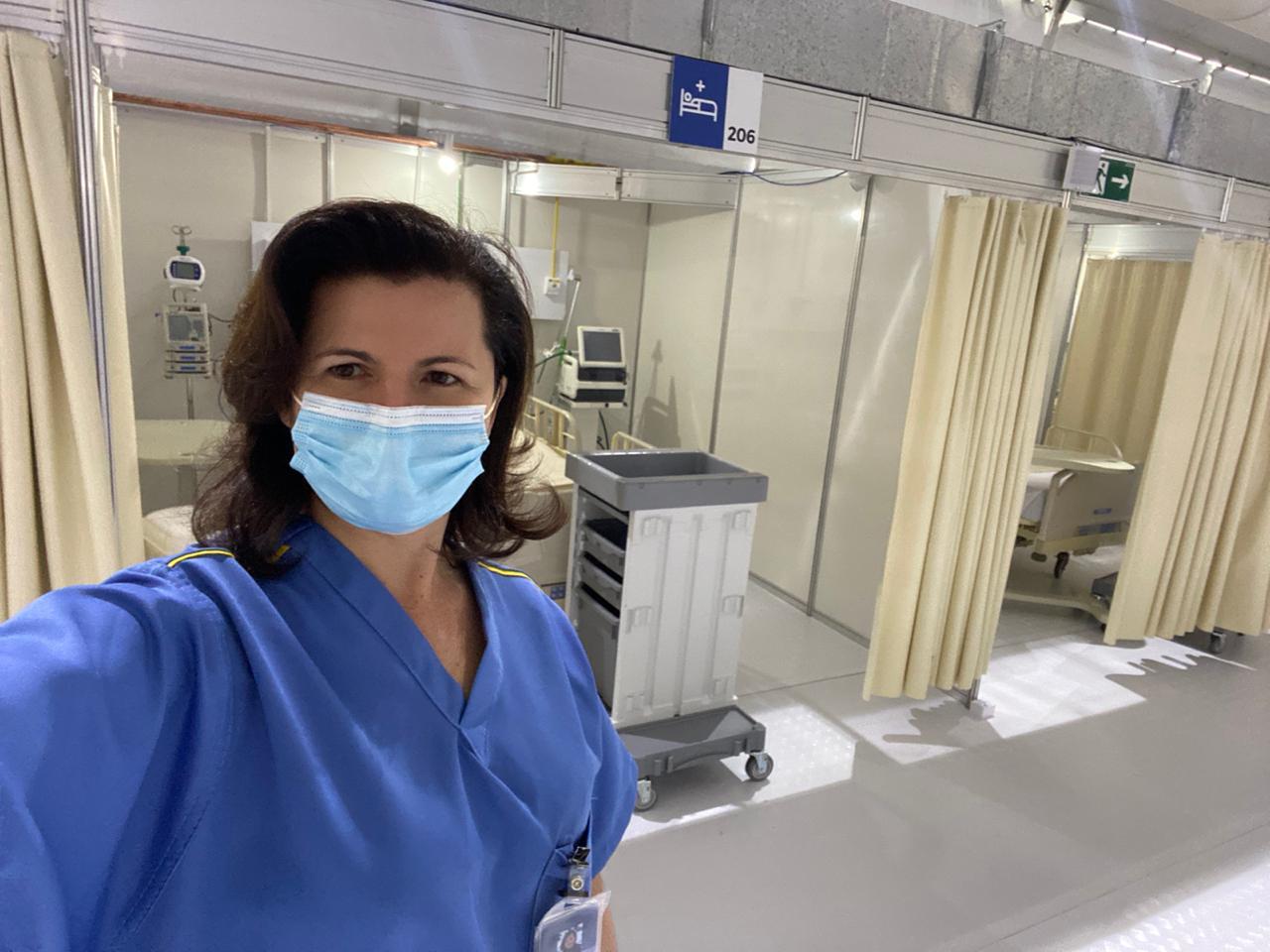Clarice's field hospital
